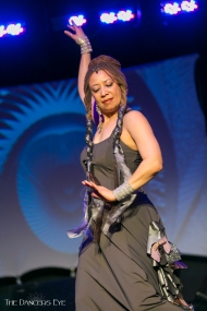 """Donna Mejia performing """"Belonging"""" at Elevation Dance Conference, Golden CO April 30, 2016. Photo by Carrie Meyer of the Dancer's Eye"""