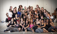 Donna Mejia teaching at New York's DANY studios, May 9 2015, photo by Maria Richardson for SoSonseeahray Sonjirey