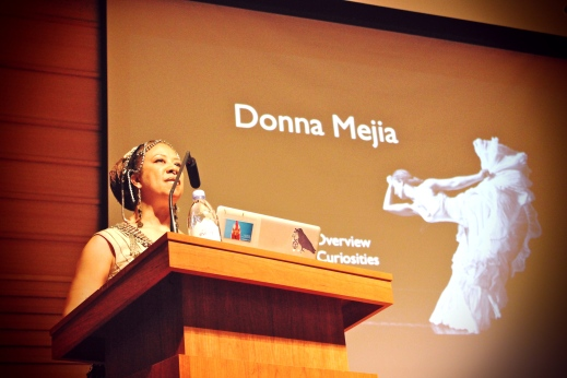 Donna Mejia's Keynote Lecture at USF, Tampa, FL. October 2014