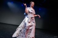 Donna Mejia at the 2017 Harlem Hafla, Photo by Monzeeki